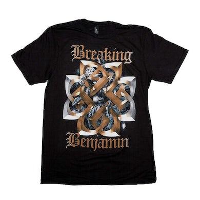 Breaking Benjamin T Shirt | Breaking Benjamin Floral Symbol T-Shirt