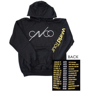 CNCO Band Black Hoodie Sweatshirt