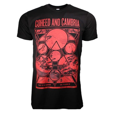 Coheed & Cambria T Shirt   Coheed and Cambria Mountain Peace T-Shirt