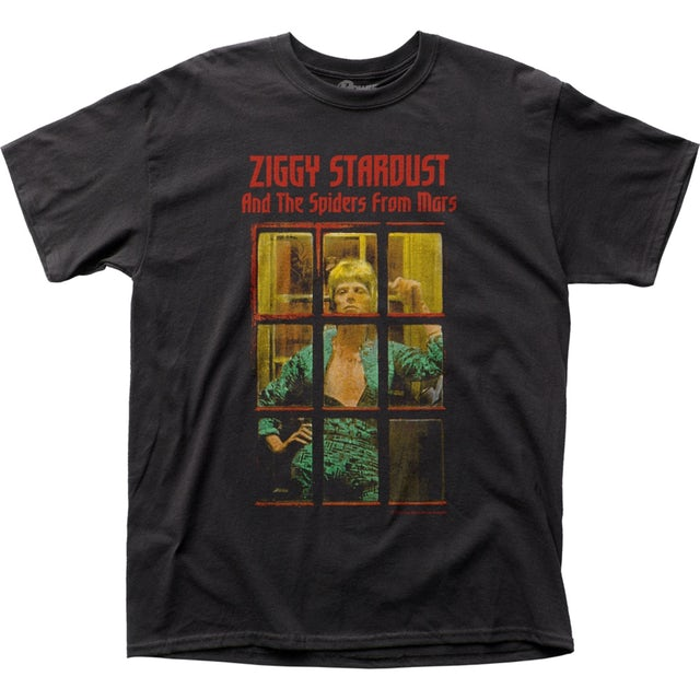 David Bowie T Shirt | David Bowie Ziggy Phonebooth T-Shirt