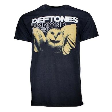 Deftones T Shirt   Deftones Sepia Owl T-Shirt
