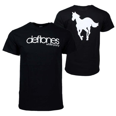 Deftones T Shirt   Deftones White Pony T-Shirt