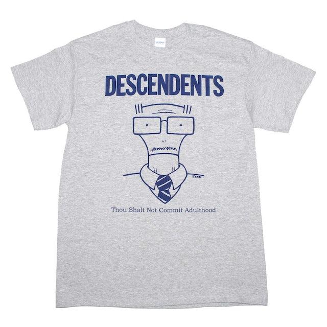 Descendents T Shirt   Descendents Thou Shalt Not Commit Adulthood T-Shirt
