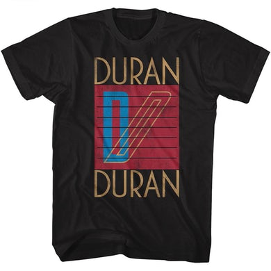 Duran Duran T Shirt | Duran Duran Logo T-Shirt