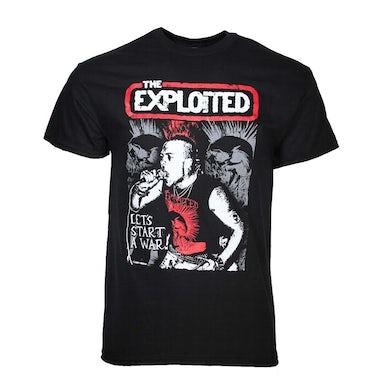 The Exploited T Shirt | Exploited Let's Start a War T-Shirt