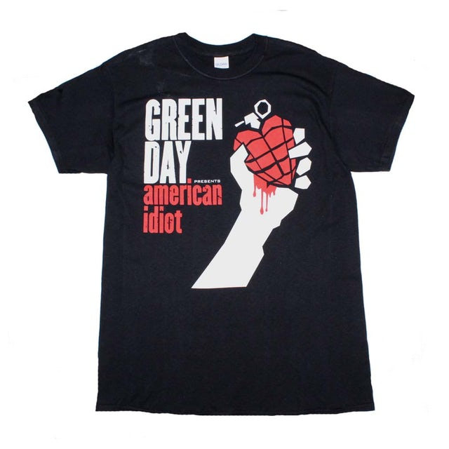 Green Day T Shirt | Green Day American Idiot T-Shirt