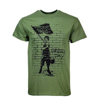 Green Day T Shirt | Green Day Flag Boy T-Shirt