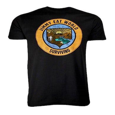 T Shirt | Jimmy Eat World Surviving Crest T-Shirt