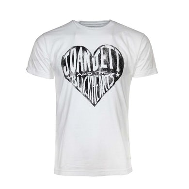 Joan Jett & The Blackhearts T Shirt | JoanJettBlackhearts White T-Shirt