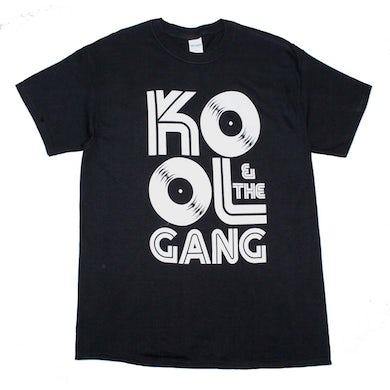 Kool & The Gang T Shirt   Kool & The Gang Records Logo T-Shirt