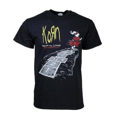 KORN T Shirt | Korn Follow The Leader 20th Anniversary T-Shirt