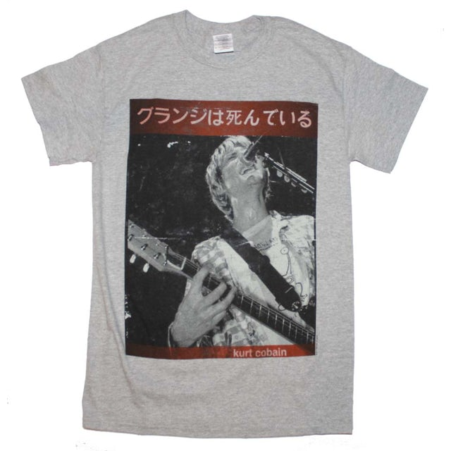 Nirvana T Shirt   Kurt Cobain Guitar Kurt T-Shirt
