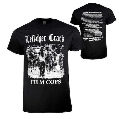 Leftover Crack T Shirt   Leftover Crack Film Cops T-Shirt