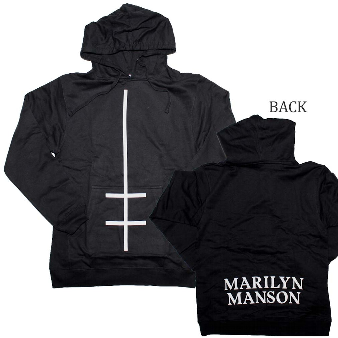 retail prices find lowest price online here Marilyn Manson Double Cross Sweatshirt