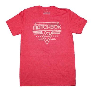 Matchbox 20 T Shirt   Matchbox 20 Alpha Crest T-Shirt