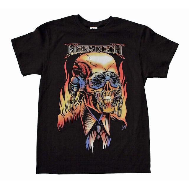 Megadeth T Shirt | Megadeth Vic Rattlehead T-Shirt