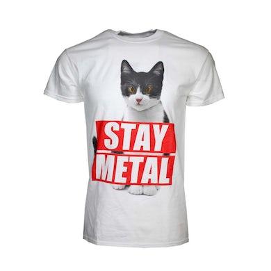 Miss May I T Shirt | Miss May I Stay Metal Cat T-Shirt
