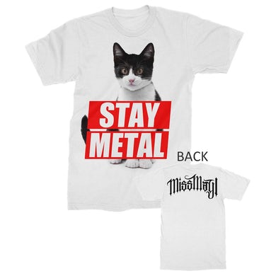 Miss May I T Shirt | Miss May I Stay Metal Cat T-Shirt