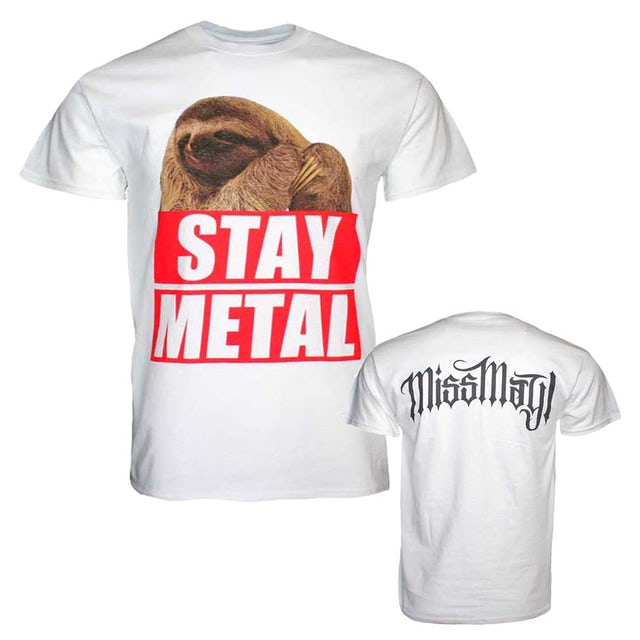 Miss May I T Shirt | Miss May I Stay Metal Sloth T-Shirt
