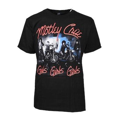 Mötley Crüe T Shirt | Motley Crue Girls Girls Girls T-Shirt