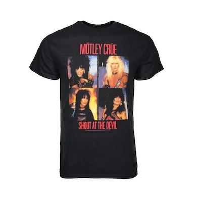 Mötley Crüe T Shirt | Motley Crue Panels T-Shirt
