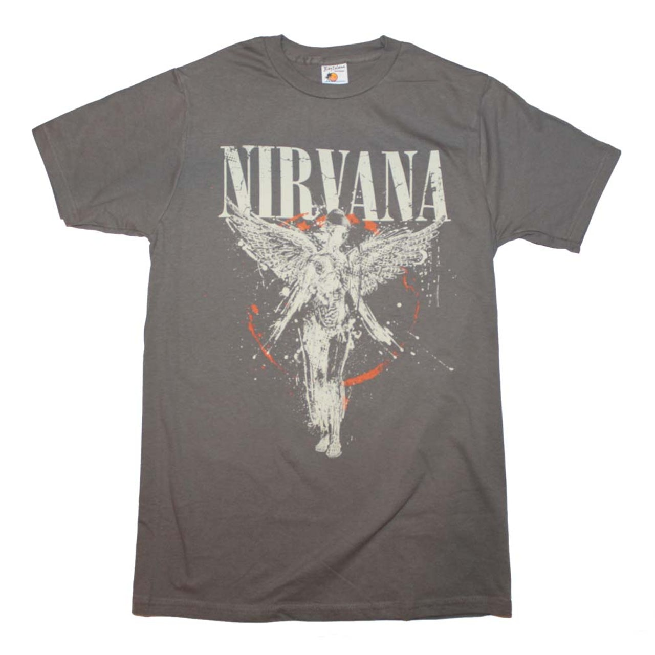 bf46a1c4d58da Nirvana bleached distressed shirts dress or top SXL band tee in