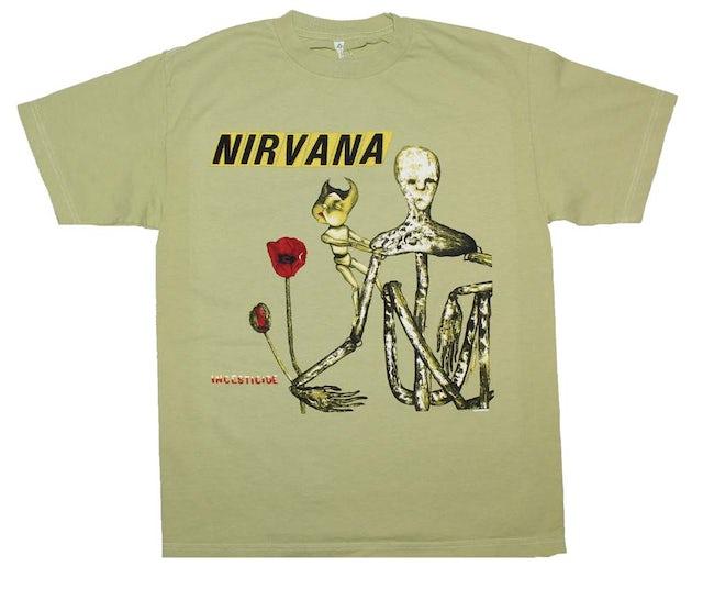 Nirvana T Shirt | Nirvana Incesticide Album T-Shirt