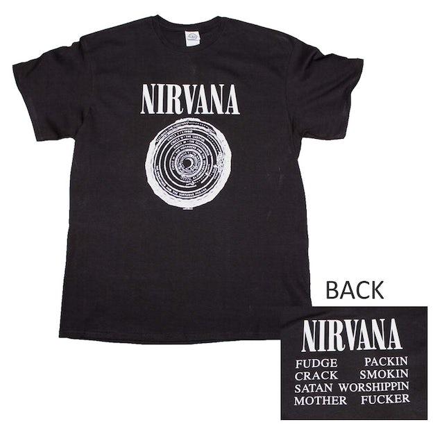 Nirvana T Shirt | Nirvana Vestibule T-Shirt