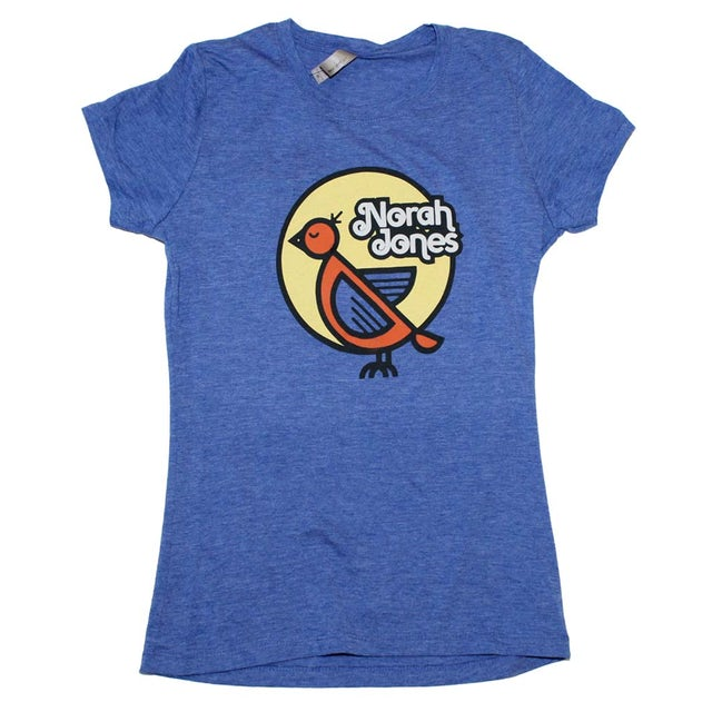 Nora Jones T Shirt | Nora Jones Bird Juniors T-Shirt