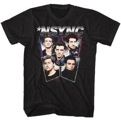 *NSYNC T Shirt   NSYNC Heads T-Shirt