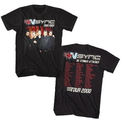 *NSYNC T Shirt   NSYNC Tour 2000 T-Shirt