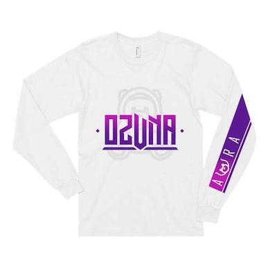 Ozuna T Shirt   Ozuna Aura Purple Logo Long Sleeve Tee