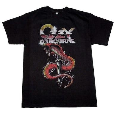 Ozzy Osbourne T Shirt | Ozzy Osbourne Vintage Snake T-Shirt