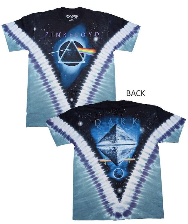 Pink Floyd T Shirt | Pink Floyd Pyramid VDYE T-Shirt