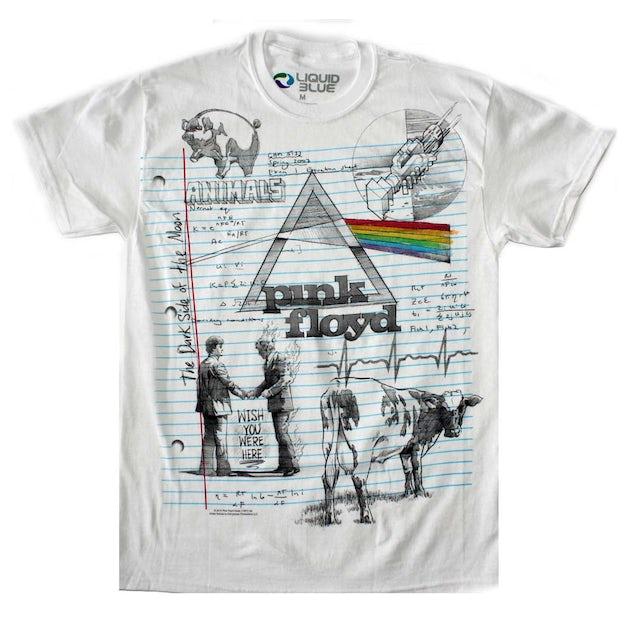 Pink Floyd T Shirt | Pink Floyd Sketch T-Shirt