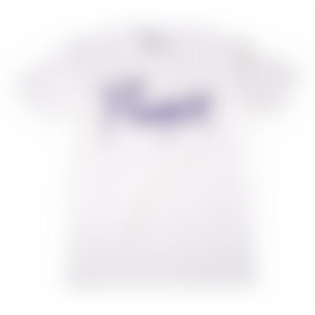 Prince Purple Logo White T-Shirt