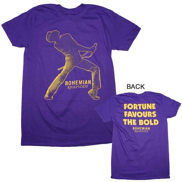 Queen T Shirt | Queen Bohemian Rhapsody Fortune T-Shirt