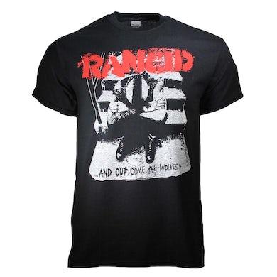 Rancid T Shirt | Rancid And Out Come the Wolves T-Shirt