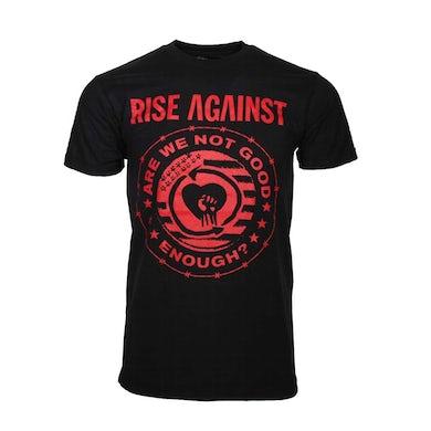 Rise Against T Shirt | Rise Against Good Enough T-Shirt