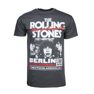 The Rolling StonesT Shirt | Rolling Stones Europe 76 T-Shirt