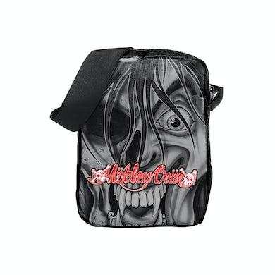 Mötley Crüe Dr. Feelgood Face Crossbody Bag