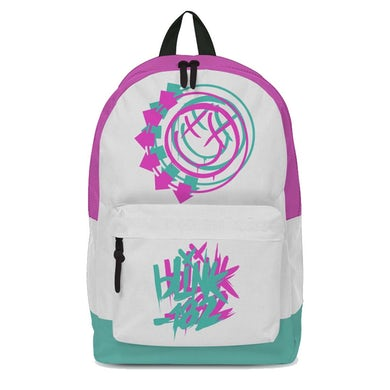 Blink 182 Smiley White Classic Backpack