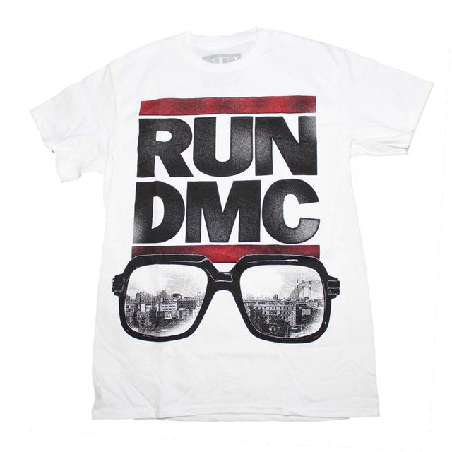 caeaf4fa Run-Dmc T Shirt | Run DMC Glasses NYC T-Shirt