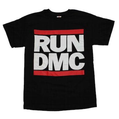 Run DMC T Shirt   Run DMC Logo Black T-Shirt