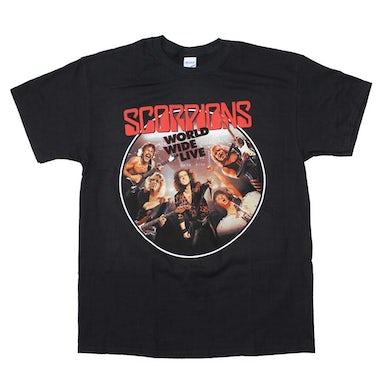 Scorpions T Shirt | Scorpions Worldwide Live T-Shirt