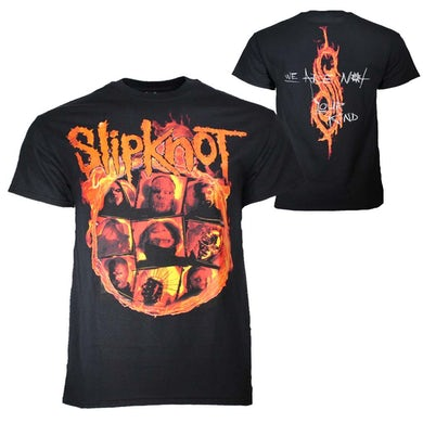 Slipknot T Shirt | Slipknot We Are Not Your Kind Fire T-Shirt