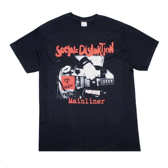 Social Distortion T Shirt | Social Distortion Mainliner Album T-Shirt