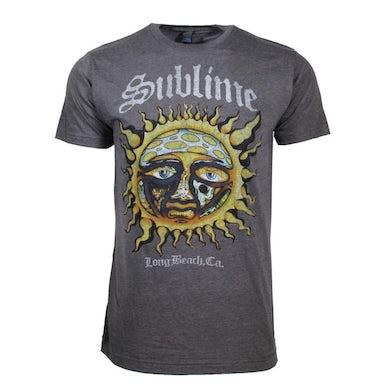 Sublime T Shirt | Sublime Logo Sun Stamp Soft T-Shirt