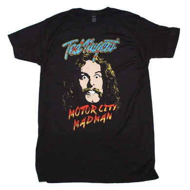 T Shirt | Ted Nugent Motor City Madman T-Shirt