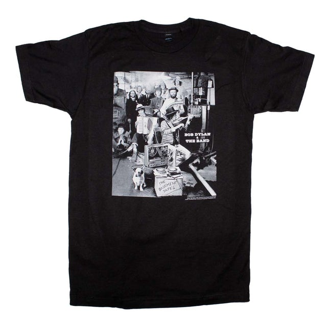 The Band T Shirt | The Band Basement Tapes T-Shirt
